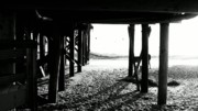 Clemente Prints - Under the Boardwalk Print by Stephanie Tso