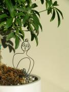 Live Wire Spirit Art - Under the Bodhi Tree by Live Wire Spirit