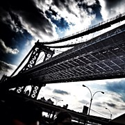 Featured Metal Prints - Under The Bridge Metal Print by Christopher Leon