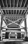 River Transportation Framed Prints - Under The Bridge III Framed Print by Steven Ainsworth