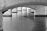 Struts Prints - Under The Bridge Print by Phyllis Denton
