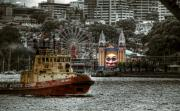 Luna Park Art - Under The Bridge by Wayne Sherriff
