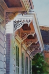 Under The Eaves Print by Sue Zimmermann