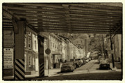 City Scape Metal Prints - Under The El At Manayunk 1 Metal Print by Jack Paolini