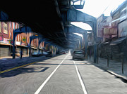 Kensington Art - Under the El by Bill Cannon