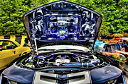 Custom Auto Photos - Under the Hood by David Hahn