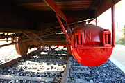 Under The Old Western Pacific Caboose Train . 7d10722 Print by Wingsdomain Art and Photography