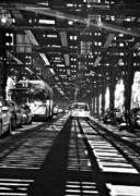Sarah Framed Prints - Under the One Train in the Bronx Framed Print by Sarah Loft