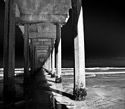 Peer Prints - Under The Pier Print by Ralf Kaiser
