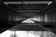 Train Photos - Under the Rails by Nicholas Evans