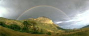 Crested Butte Prints - Under the Rainbow Print by Dusty Demerson