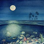 Full Moon Paintings - Under The Sea by Shawn McLoughlin