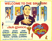 1963 Posters - Under The Yum Yum Tree, Jack Lemmon Poster by Everett