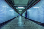 Subway Metal Prints - Underground Inhabitants Metal Print by Evelina Kremsdorf