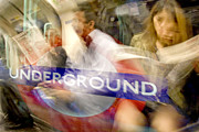 Richard Piper Art - Underground by Richard Piper