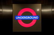 Underground Sign Print by Svetlana Sewell