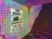 Underground Digital Art - Underground With The Underground 1966 by Phil Vooz