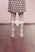 Shoe String Prints - Underpants Print by Joana Kruse