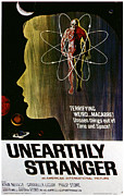 1963 Movies Prints - Unearthly Stranger, 1963 Print by Everett