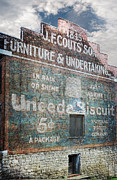 Clarksville Framed Prints - Uneeda Biscuit Framed Print by Steven  Michael