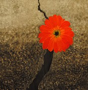 Asphalt Paintings - Unfailing Love by Toni McKinley