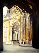 Epiphany Paintings - Unfinished Temple by Jennifer Stenberg