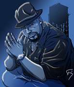 Hip Hop Drawings - Unforgettable by Tuan HollaBack