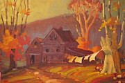 Colors Of Autumn Originals - Unhaunted by Len Stomski