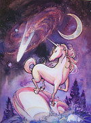 Arwen Originals - Unicorn and the Night Sky by Arwen De Lyon