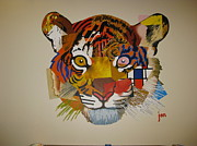 Diversity Paintings - Unified Tiger by Jon Ellis