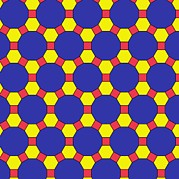 Platonic Prints - Uniform Tiling Pattern Print by