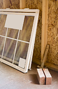 Frame House Photos - Uninstalled Windows by Roberto Westbrook