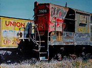 Rust Paintings - Union by Gail Chandler