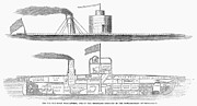 Ironclad Prints - Union Ironclad, 1863 Print by Granger