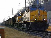 Electric Photo Originals - Union Pacific 7265 by Jame Hayes