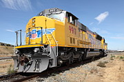 Train Photos - Union Pacific Locomotive Train - 5D18640 by Wingsdomain Art and Photography