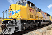 Boxcar Photos - Union Pacific Locomotive Train - 5D18643 by Wingsdomain Art and Photography