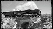 Union Pacific Prints - Union Pacific Number 844 Print by Larry McManus