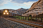 Union Pacific Train Framed Prints - Union Pacific Tracks Framed Print by Peter Tellone