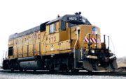 Children Mechanized Photos - Union Pacific Yard Master by Steven Milner