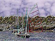 Lake Union Prints - Union Sail Print by Tim Allen