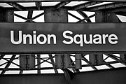 Sign Photos - Union Square  by Susan Candelario