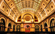Kristin Elmquist Metal Prints - Union Station Balcony Metal Print by Kristin Elmquist