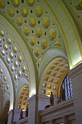 Railroad Stations Prints - Union Station Ceiling Print by Rich Walter