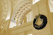 Union Station Holiday Print by Jost Houk