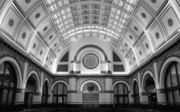 Union Station Lobby Framed Prints - Union Station Framed Print by Kristin Elmquist