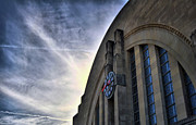Cincinnati Framed Prints - Union Terminal Framed Print by Russell Todd