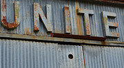 High Resolution Prints - UNITE Weathered Sign Print by Nikki Marie Smith