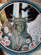 Liberty Paintings - United by Becky Jenney