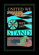Memorial Mixed Media - United We Stand by Nick Diemel